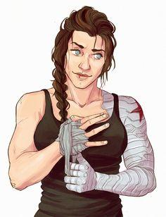 girl!Bucky