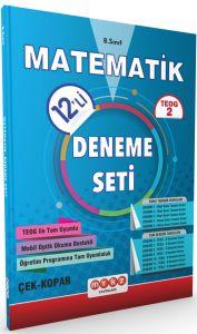 Merkez Yayınları TEOG 2 Matematik 12 Deneme Seti