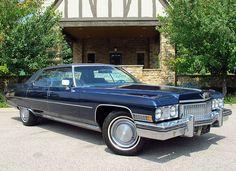 1973 Cadillac Sedan DeVille Maintenance/restoration of old/vintage vehicles: the…