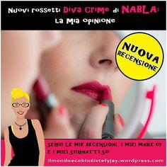 Nuova recensione!  Ho provato i nuovi rossetti#DivaCrimedi#NABLA, ed ecco le mie impressioni.  Buona lettura.  Stefy   #makeup #rossetti #nabla #matte #PantaRei #RougeMonAmour#AlterEgo #crueltyfree #vegan #veganok #beuty #blog #beutyblogger #love #cosmetici #cosmeticinaturali #igersitalia #igerssardegna
