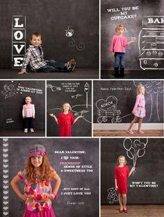 I would like a chalkboard wall in both headquarter....