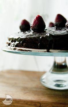 Chocolate cake for Father's Day. / Czekoladowe ciasto na Dzień Taty.