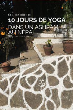 Je vous raconte tout sur mon expérience de 10 jours dans un ashram pour une retraite de yoga au Népal, près de Katmandou !