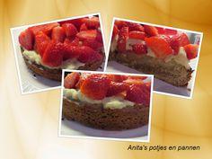 Anita's potjes en pannen: Aardbeienslof - recept met aanpassingen om het tarwe-vrij, koemelk-vrij en geraffineerd suikervrij te maken
