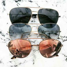 87ca7b82b Óculos de sol aviador | Temos não só Ray Ban como várias outras marcas,  cores