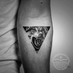 Leading Tattoo Magazine & Database, Featuring best tattoo Designs & Ideas from around the world. At TattooViral we connects the worlds best tattoo artists and fans to find the Best Tattoo Designs, Quotes, Inspirations and Ideas for women, men and couples. Wolf Tattoo Back, Small Wolf Tattoo, Wolf Tattoo Sleeve, Arm Band Tattoo, Sleeve Tattoos, Wolf Tattoo Design, Tattoo Designs, Skull Tattoo Design, Pretty Skull Tattoos