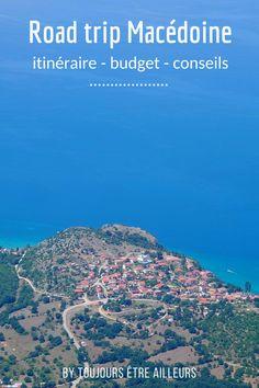 Conseils pour un road trip de quatre jours en Macédoine: itinéraire, budget, location de voiture... #travel #tips #Macedonia