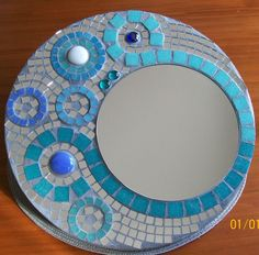 Tile Crafts, Mosaic Crafts, Mosaic Projects, Mosaic Wall Art, Mosaic Mirrors, Mosaic Tiles, Stone Mosaic, Mosaic Glass, Free Mosaic Patterns