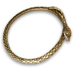 Sweet Romance Snake Serpent Bangle Bracelet (£25) ❤ liked on Polyvore featuring jewelry, bracelets, brown, snake bangle, bracelets bangle, swarovski crystal jewelry, swarovski crystal bangle bracelet and stacked bangles