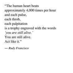Rudy Francisco quote