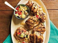 Perfect for summer cookouts, this grilled chicken recipe boasts phenomenal flavors from its savory-sweet relish.