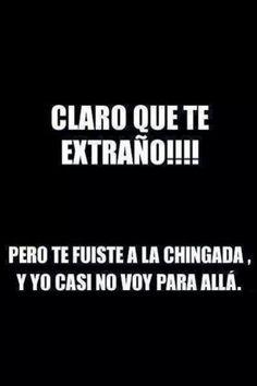 #Frase #Humor #Extrañar