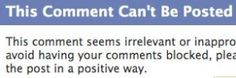 Facebook Stops Users From Posting 'Irrelevant Or Inappropriate'Comments. #TheEndOfFacebook?