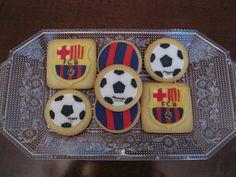 Las galletas de Manu...ni que decir cual es su equipo!