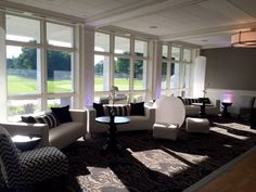 Indoor Lounge Furniture by That Event Co. #manchestercountryclub
