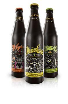 Cerveza Artesanal Márquez on Behance