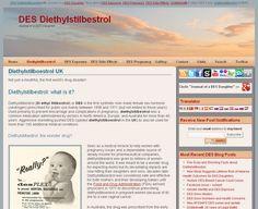 DES Diethylstilbestrol > Journal of a DES Daughter (This issue needs more attention!)