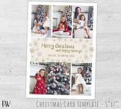 Photo Christmas Cards Holiday Photo Postcard Christmas Photo