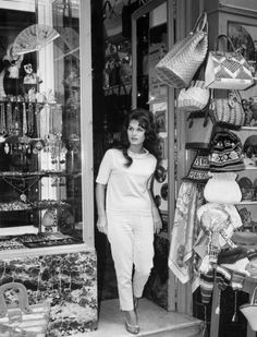 Dalida, anni '60 - Italy Capri