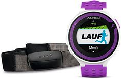 Garmin Forerunner 220 avec cardio-fréquencemètre - Montre de running avec GPS intégré - Blanc/Violet Garmin http://www.amazon.fr/dp/B00G5DAJ6Q/ref=cm_sw_r_pi_dp_CTGxwb103NWEJ