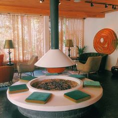 Parker, Palm Springs, CA: Jonathan Adler decorated the entire Parker hotel in Palm Springs. Make sure to have a seat in the lobby to take in incredible artwork and furniture pairings.