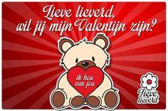Tag jouw Valentijn of de liefste vader of moeder van jouw kindje! Veel liefs van Lieve Lieverd. #lievelieverd #valentijn #valentijnsdag #tag #ikhouvanjou