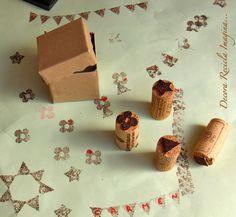 Decora Recicla Imagina …: Sellos de corcho.