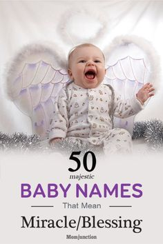 Baby Names Meaning Miracle