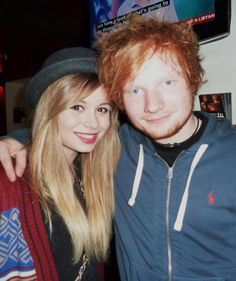 nina nesbitt and ed sheeran | Tumblr. They are perfect.