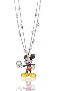 Chopard. Mickey mouse collection. mickey pendant necklace...♡