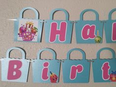Good Cost-Free Shopkins Birthday Banner, Shopkin, Shopkins Banner, Shopkins Part… - Shopkins Party Ideas 6th Birthday Parties, 9th Birthday, Girl Birthday, Birthday Ideas, Shopkins Bday, Free Shopkins, Party Fiesta, Holidays And Events, Decoration
