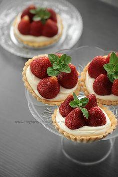 Mini Strawberry Tart #strawberry #strawberries