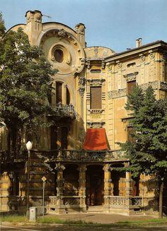 Arte Liberty in Italia - Parma Villino Bonazzi