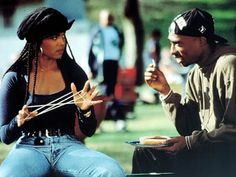 Janet & Tupac in Poetic Justice