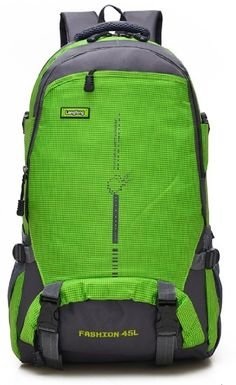 19d807768876 Amazon.com   MJP Daypack large Backpack Rucksack Green 11.9gal Lightweight  Waterproof Outdoor Club activities with Waist belt   Sports   Outdoors