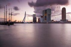 Rotterdam @ sunrise | by Ilya Korzelius