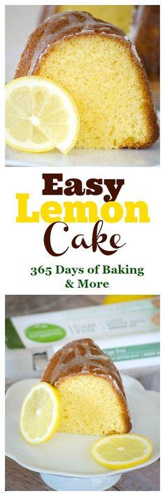 This Easy Lemon Cake