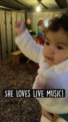 She loves live music!