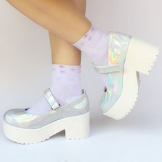 c627028afe3 Custom Made Hologram Laser Platform Shoes SP168086