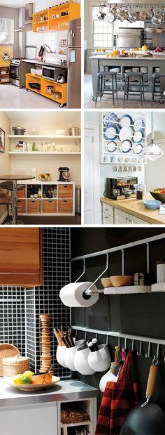 Cozinha sem armarios