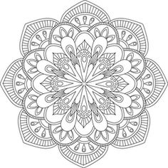 mandala para colorear ms mandala coloring pagesfree