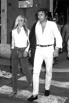 Brigitte & Gunter Sachs, Roma 1967