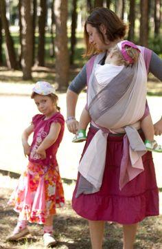 Girasol Romantique RS #Babywearing #sling