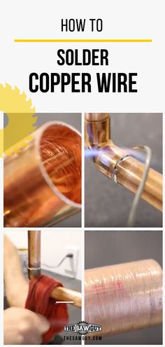 Learning how to solder ans sweat your own pipes can be a huge money saver. We're here to show you how to solder copper pipe before your next plumbing DIY.