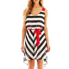 Bisou bisou chevron maxi dress
