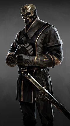 Overseer Alt Design. Masked killer assassin