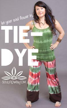 Tie-Dye love <3 #letlifeflow and #soulflowercontest