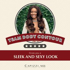 Bring it on! The beautiful, Gabrielle Union is representing, Body contouring can be done surgically with liposuction or non-surgically with CoolSculpting. Remember, the All. Board Certified Plastic Surgeons, Cool Sculpting, Gabrielle Union, Liposuction, Body Contouring, Coming Out, Surgery, Facial, Bring It On
