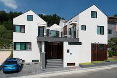 당신이 꿈꾸던 바로 그 집. 입체감이 살아있는 주택 (출처 Juryeong Kuhn)