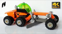 Futuristic Grader (Lego Technic MOC - 4K)